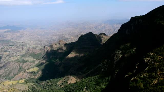 Siemen mountains in Ethiopia.