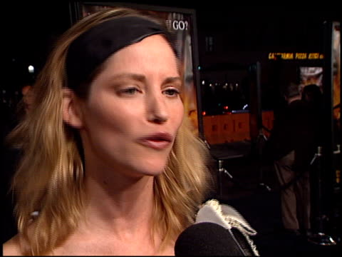sienna guillory at the premiere of 'the time machine' at the mann village theatre in westwood, california on march 4, 2002. - sienna guillory stock videos & royalty-free footage