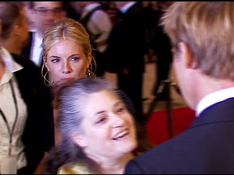 Sienna Miller and Brad Pitt at the 2007 Palm Springs International Film Festival Gala Awards Presentation on January 6 2007