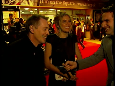 sienna miller and steve buscemi attend london film festival premiere england london leicester square photography *** sienna miller and steve buscemi... - steve buscemi stock videos & royalty-free footage