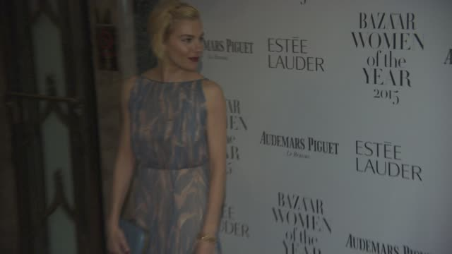 Sienna Miller at Harper's Bazaar Women of the Year Awards at Claridge's Hotel on November 03 2015 in London England