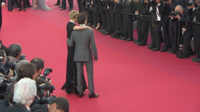 Sienna Miller Xavier Dolan at 'Carol' Red Carpet at Palais des Festivals on May 17 2015 in Cannes France
