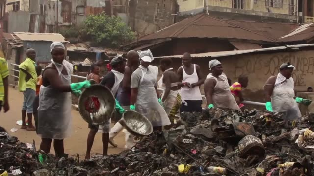 Sierra Leone holds its first national cleaning day under new President Julius Maada Bio as part of a campaign to improve hygiene and the work rate of...