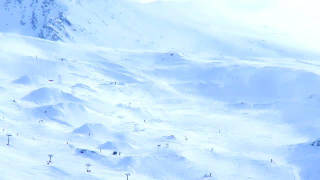 stockvideo's en b-roll-footage met sierra nevada in spain - snow covered mountains - silvestre