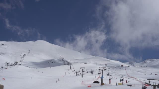 vídeos de stock e filmes b-roll de sierra nevada - empreendimento turístico
