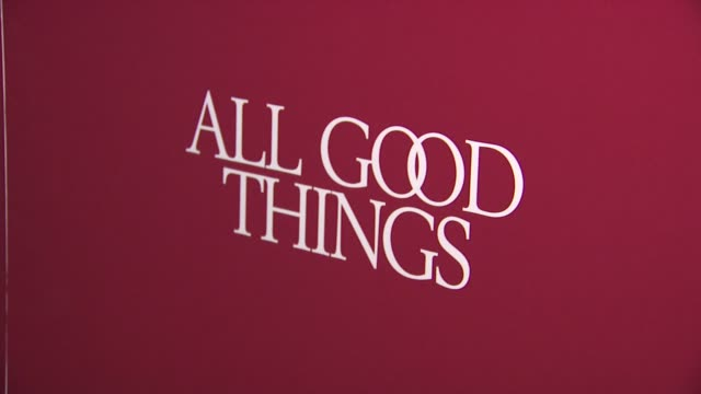 sigange at the 'All Good Things' New York Premiere at New York NY