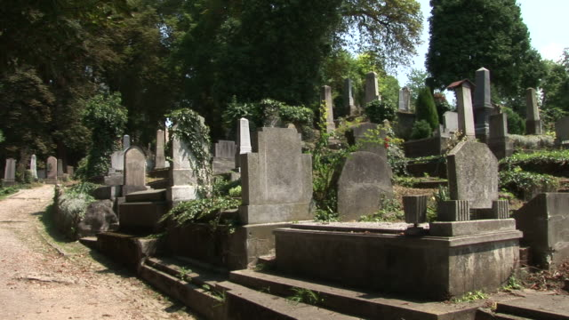 sighisoarasighisoara graveyard transylvania romania - mures stock videos & royalty-free footage