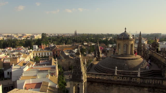 Sight Seeing on the Roof of Saint Mary Cathedral
