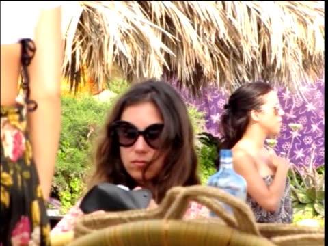 Sighting Andrea Casiraghi Tatiana Santodomingo in Ibiza on June 06 2011 in Ibiza Spain
