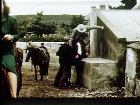vidéos et rushes de 1947 sights of county kerry - pique nique