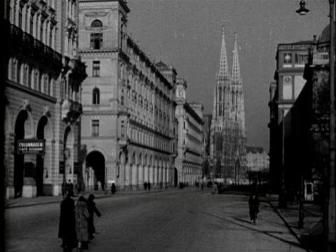 vidéos et rushes de 1936 - sights of vienna - 1936