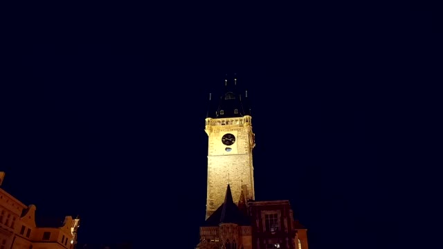 sightseeing prague - astronomical clock prague stock videos and b-roll footage