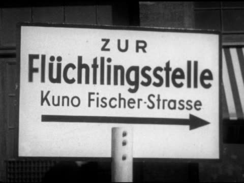 Sign In German Pointing To Kuno Fischer Strasse Center Vs East