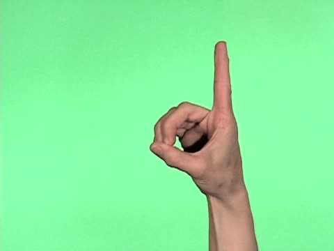 Sign Language Alphabet Letters A-M