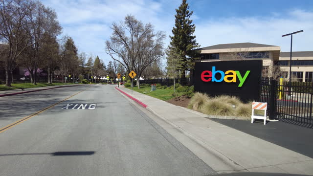 sign of ebay - auction stock videos & royalty-free footage