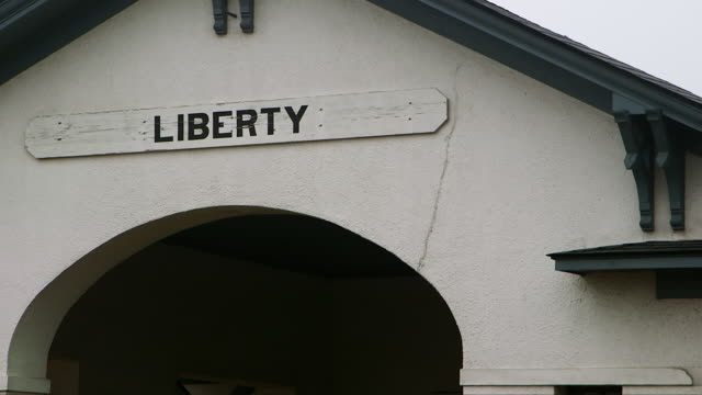 MS Sign of Liberty / Liberty County, Texas, United States
