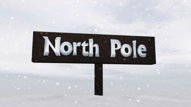 "Sign of the ""North Pole"""