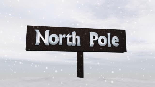 """Zeichen der """"North Pole"""""""