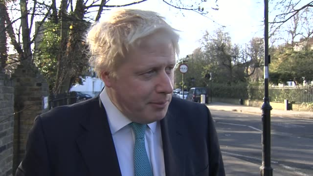 300000 sign petition calling for donald trump to be banned from britain england london ext boris johnson mp interview sot i think it is totally... - 全部点の映像素材/bロール