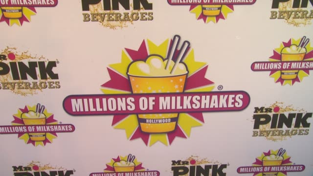 ATMOSPHERE Signage and Fans at Priyanka Chopra Launches The Exotic Celebrity Milkshake At Millions of Milkshakes on 7/25/2013 in Culver City CA
