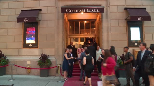 atmosphere signage and guests at broadway revival of andrew lloyd weber's cats opening at neil simon theatre on july 31 2016 in new york city - andrew neil stock videos & royalty-free footage