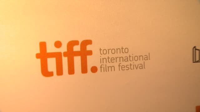 ATMOSPHERE signage at '12 Years A Slave' Premiere 2013 Toronto International Film Festival on 9/6/2013 in Toronto Canada