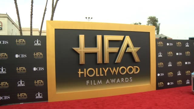 atmosphere signage at 2014 hollywood film awards press day at hollywood palladium on november 13 2014 in hollywood california - hollywood palladium stock videos & royalty-free footage