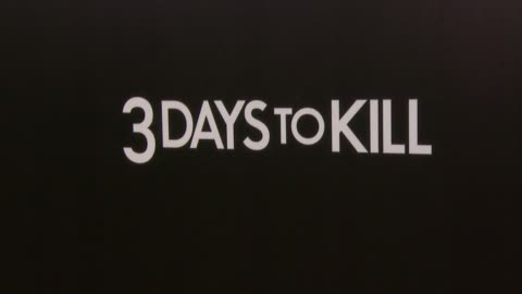 """signage at """"3 days to kill"""" los angeles premiere at arclight cinemas on in hollywood, california. - arclight cinemas hollywood stock videos & royalty-free footage"""