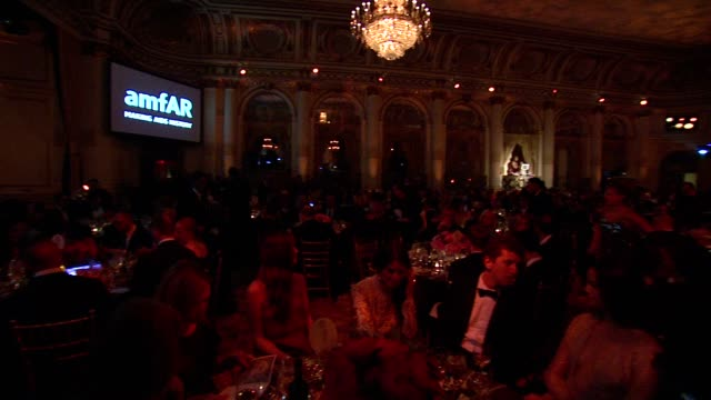 ATMOSPHERE signage at 4th Annual amfAR Inspiration Gala New York at The Plaza Hotel on June 14 2013 in New York New York