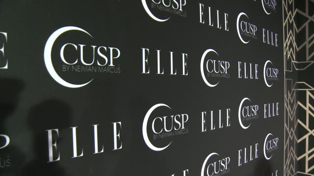 stockvideo's en b-roll-footage met signage at 5th annual elle women in music celebration presented by cusp by neiman marcus at avalon on april 22, 2014 in hollywood, california. - neiman marcus