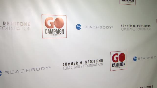 atmosphere signage at 6th annual go go gala in pacific palisades ca on - pacific palisades stock videos & royalty-free footage