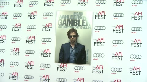 """signage at afi fest 2014 presented by audi gala screening of """"the gambler"""" at dolby theatre on november 10, 2014 in hollywood, california. - the dolby theatre stock videos & royalty-free footage"""
