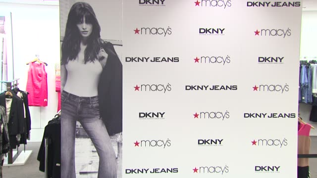 signage at ashley greene twilight star instore appearance at macy's herald square on march 29 2012 in new york new york - macy's herald square stock videos and b-roll footage