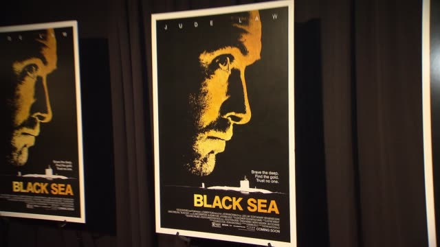 ATMOSPHERE signage at Black Sea New York Premiere Presented By Focus Features at Landmark Sunshine Theater on January 21 2015 in New York City