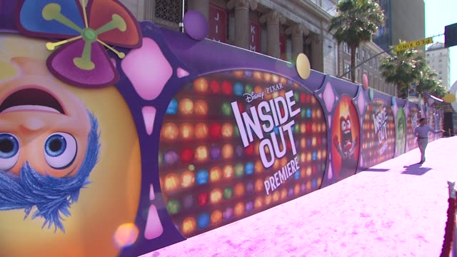 ATMOSPHERE signage at DisneyPixar's Inside Out Los Angeles Premiere at the El Capitan Theatre on June 08 2015 in Hollywood California