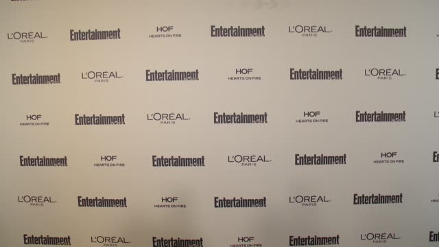 atmosphere signage at entertainment weekly's preemmy celebration at fig olive melrose place on september 18 2015 in west hollywood california - entertainment weekly stock videos and b-roll footage