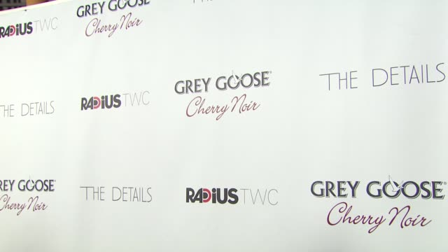 signage at grey goose vodka hosts 'the details' premiere in hollywood 10/29/12 - grey goose vodka stock videos & royalty-free footage