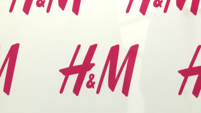 ATMOSPHERE signage at HM And Cara Delevingne Celebrate Opening Of New Location At Westfield World Trade Center at HM Westfield World Trade Center on...