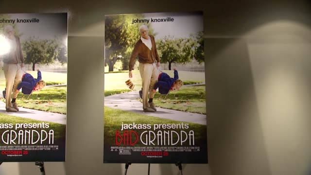 ATMOSPHERE signage at Jackass Presents Bad Grandpa New York Special Screening at Sunshine Landmark New York NY on 10/21/13 in New York NY