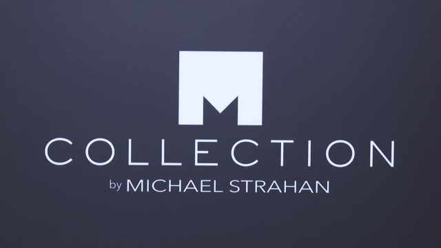 atmosphere signage at jcpenney and michael strahan launch collection by michael strahan at artbeam on september 30 2015 in new york city - fashion collection stock videos & royalty-free footage