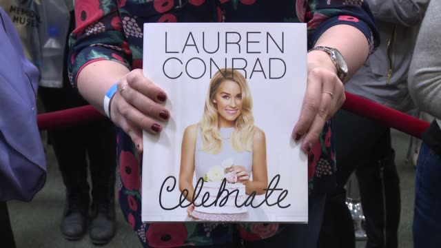 atmosphere signage at lauren conrad signs copies of her new book lauren conrad celebrate at barnes noble tribeca on march 28 2016 in new york city - barnes & noble stock videos & royalty-free footage