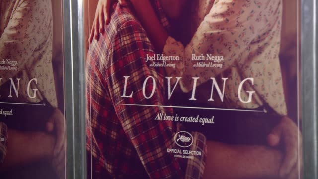 ATMOSPHERE signage at Loving New York Premiere Presented by Focus Features at Landmark Sunshine Cinema on October 26 2016 in New York City