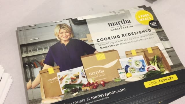 "signage at martha stewart signs copies of her new book ""martha's flowers"" at macys herald square on april 05, 2018 in new york city. - martha stewart stock videos & royalty-free footage"