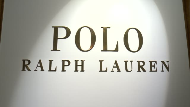 atmosphere signage at models at polo ralph lauren s/s 2016 nyfw mens presentation at tbd on july 16 2015 in new york city - アトモスフィア点の映像素材/bロール