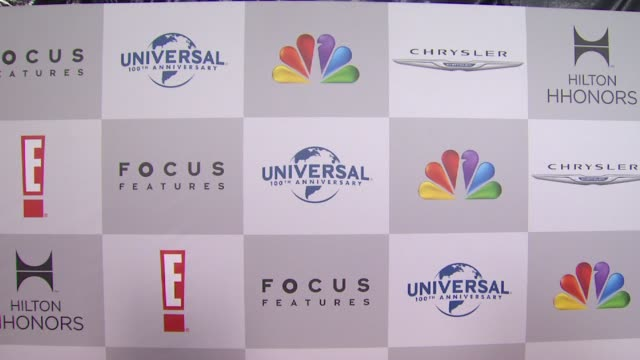 vidéos et rushes de signage at nbcuniversal's 69th annual golden globe afterparty in beverly hills ca on 1/15/12 - nbcuniversal
