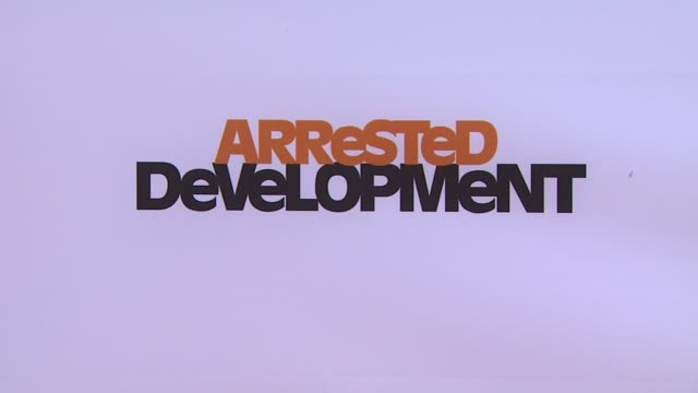 ATMOSPHERE signage at Netflix's Arrested Development Season Four Los Angeles Premiere 4/29/2013 in Hollywood CA