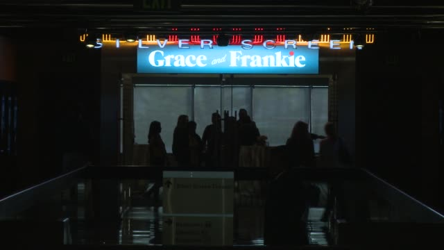 ATMOSPHERE signage at Netflix's Grace and Frankie QA Screening Event at Pacific Design Center on May 26 2015 in West Hollywood California