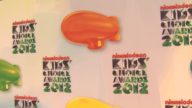 Signage at Nickelodeon's 25th Annual Kids' Choice Awards on 3/31/2012 in Los Angeles CA