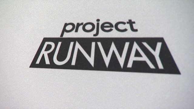 signage at project runway 10th anniversary party at highline on july 17 2012 in new york new york - project runway stock videos and b-roll footage