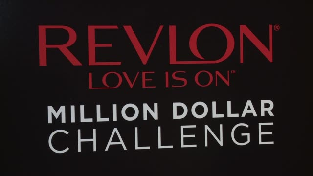 ATMOSPHERE signage at Revlon's 2nd Annual Love Is On Million Dollar Challenge Finale Party at the Glass Houses on December 1 2016 in New York City